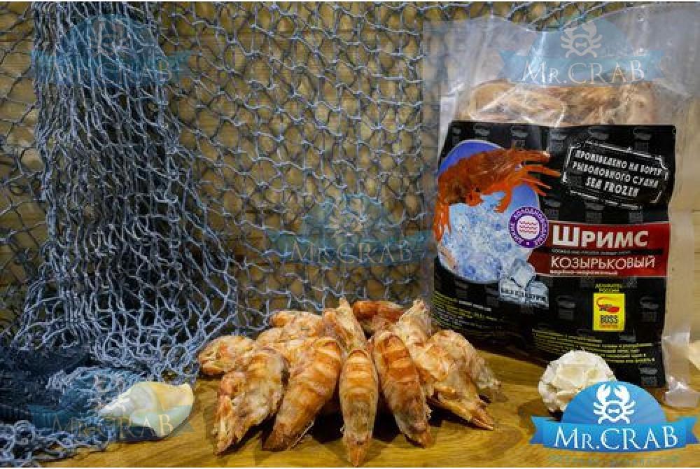 Козырьковая креветка блистер 0,5 кг