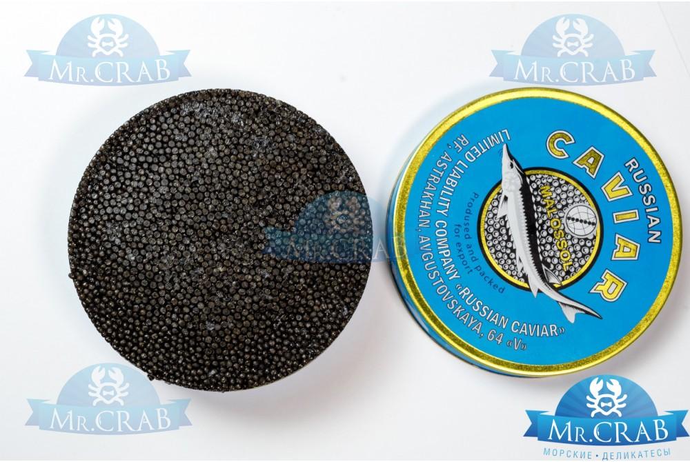 Черная икра осетровая натуральная, 250 г
